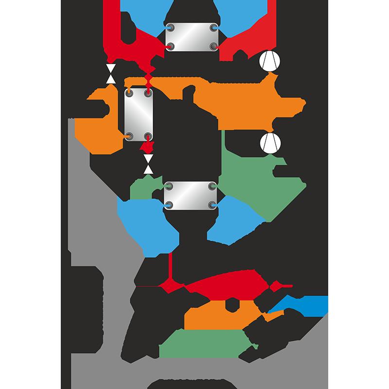 ammonia intercooler diagram ammonia condenser diagram Ammonia System Piping Diagram Chilled Water Piping Diagram