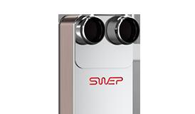 Паяный пластинчатый теплообменник SWEP AB439 Кисловодск Пластинчатый теплообменник Alfa Laval AQ10-FG Елец